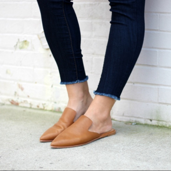 3795d426001a Madewell Shoes - Madewell Gemma Leather Mule